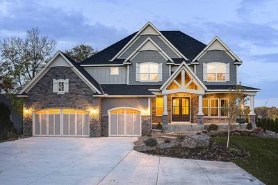 Modern storybook craftsman house plan with 2 story great room 73377hs architectural designs for Storybook craftsman house plans