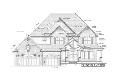 Modern Storybook Craftsman House Plan With 2 Story Great