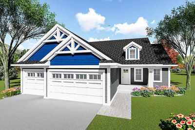Craftsman Ranch House Plan 890046AH Architectural Designs