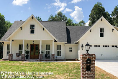 Exclusive House Plan 51772HZ comes to life in Tennessee - photo 001