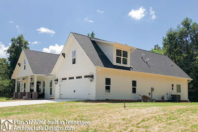Exclusive House Plan 51772HZ comes to life in Tennessee - photo 002