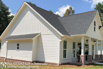 Exclusive House Plan 51772HZ comes to life in Tennessee - photo 003