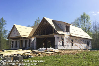 Exclusive House Plan 51772HZ comes to life in Tennessee - photo 040
