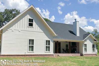 Exclusive House Plan 51772HZ comes to life in Tennessee - photo 010