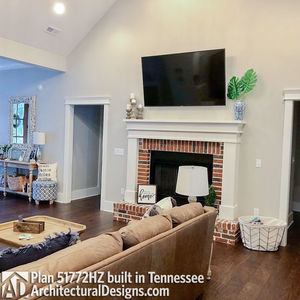 Exclusive House Plan 51772HZ comes to life in Tennessee - photo 015