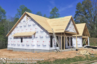 Exclusive House Plan 51772HZ comes to life in Tennessee - photo 041