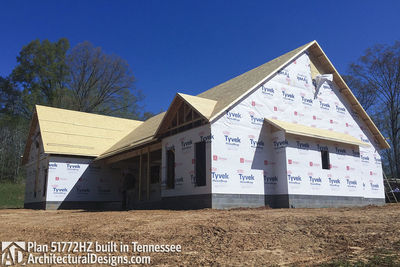 Exclusive House Plan 51772HZ comes to life in Tennessee - photo 042