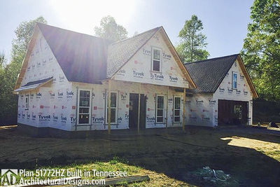 Exclusive House Plan 51772HZ comes to life in Tennessee - photo 039