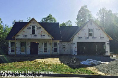 Exclusive House Plan 51772HZ comes to life in Tennessee - photo 038