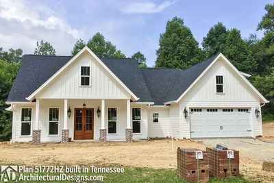 Exclusive House Plan 51772HZ comes to life in Tennessee - photo 034