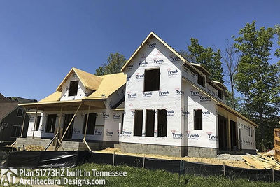 House Plan 51773HZ comes to life in Tennessee - photo 007