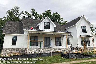 House Plan 51773HZ comes to life in Tennessee - photo 001