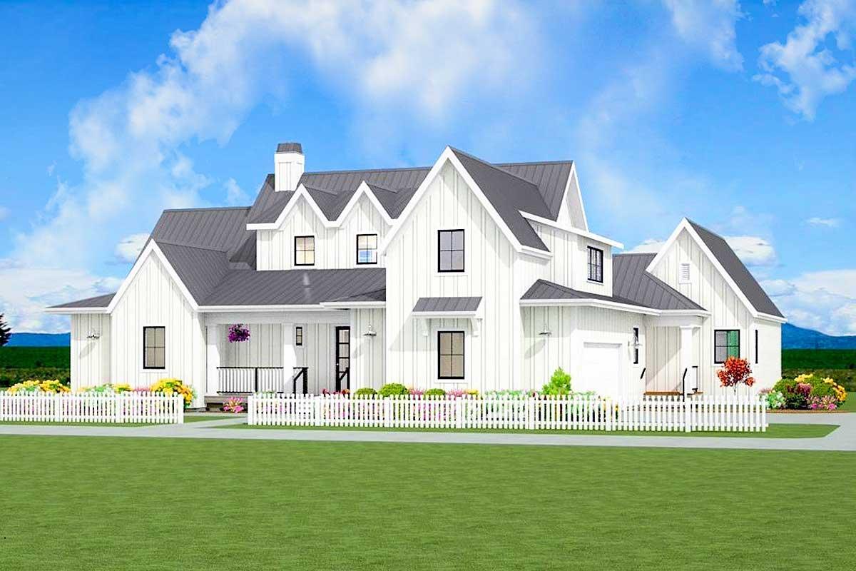 Flexible Modern Farmhouse with Loft and Bonus Room ...