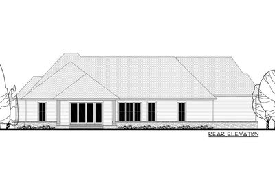 Contemporary Farmhouse Plan with Bonus Room Over The ...