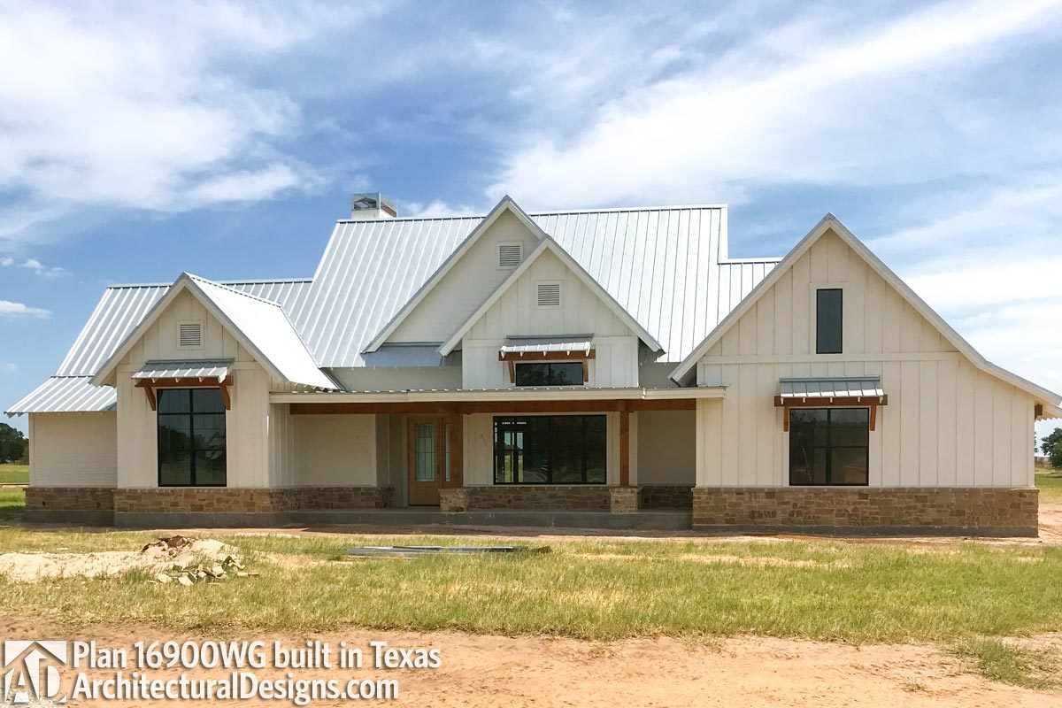 House Plan 16900WG comes to life in Texas - photo 001