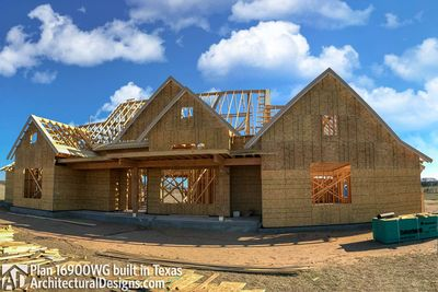 House Plan 16900WG comes to life in Texas - photo 038