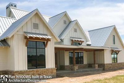 House Plan 16900WG comes to life in Texas - photo 002