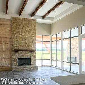 House Plan 16900WG comes to life in Texas - photo 009