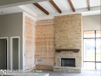 House Plan 16900WG comes to life in Texas - photo 010