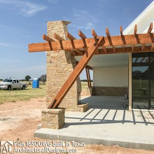House Plan 16900WG comes to life in Texas - photo 012
