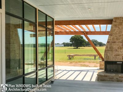 House Plan 16900WG comes to life in Texas - photo 013