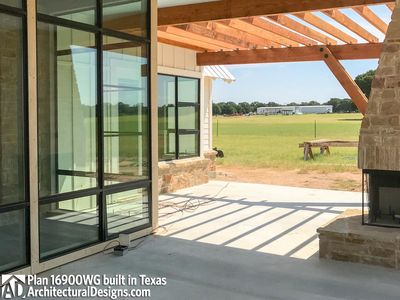 House Plan 16900WG comes to life in Texas - photo 014