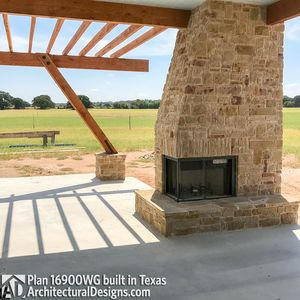 House Plan 16900WG comes to life in Texas - photo 015