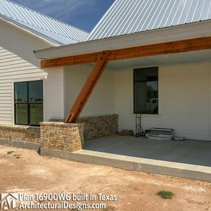 House Plan 16900WG comes to life in Texas - photo 018