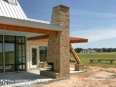 House Plan 16900WG comes to life in Texas - photo 016