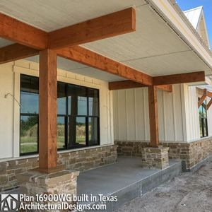 House Plan 16900WG comes to life in Texas - photo 021