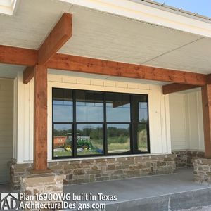 House Plan 16900WG comes to life in Texas - photo 022