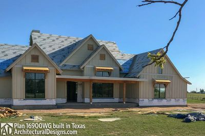 House Plan 16900WG comes to life in Texas - photo 036