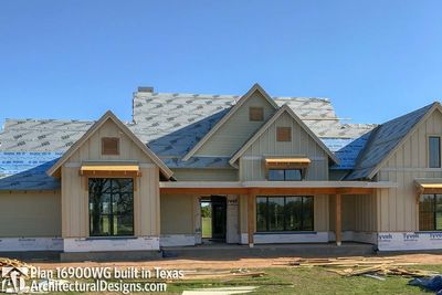 House Plan 16900WG comes to life in Texas - photo 037