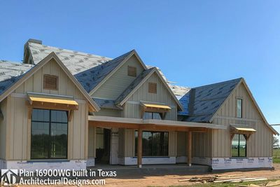 House Plan 16900WG comes to life in Texas - photo 034