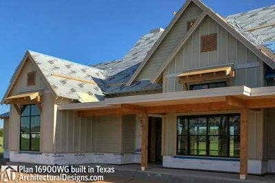 House Plan 16900WG comes to life in Texas - photo 035