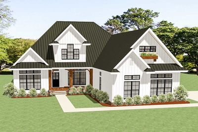 3 Bed Country Craftsman House Plan With Room To Expand   46331LA Thumb   01 Great Ideas