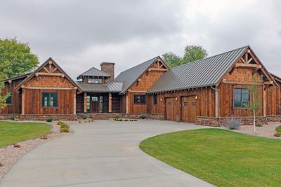 Rustic Mountain Ranch House Plan - 18846CK | Architectural Designs ...