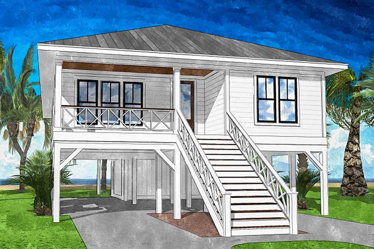 Coastal Cottage 15221nc Architectural Designs House