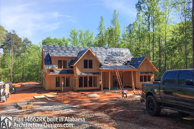 Modern Farmhouse Plan 14662RK comes to life in Alabama - photo 005