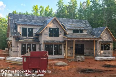 Modern Farmhouse Plan 14662RK comes to life in Alabama - photo 004
