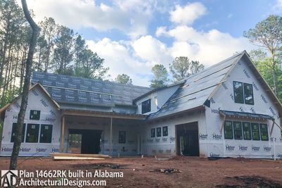 Modern Farmhouse Plan 14662RK comes to life in Alabama - photo 003