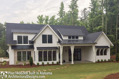 Modern Farmhouse Plan 14662RK comes to life in Alabama - photo 002