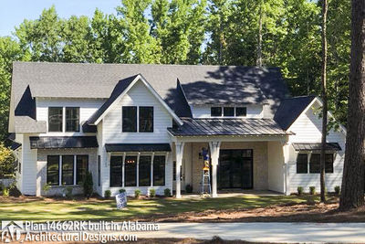Modern Farmhouse Plan 14662RK comes to life in Alabama - photo 001