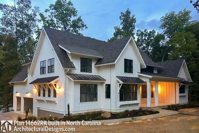 Modern Farmhouse Plan 14662RK Comes to life in North Carolina - photo 006