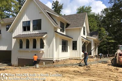 Modern Farmhouse Plan 14662RK Comes to life in North Carolina - photo 049