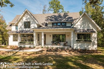 Modern Farmhouse Plan 14662RK Comes to life in North Carolina - photo 003