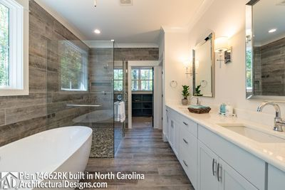 Modern Farmhouse Plan 14662RK Comes to life in North Carolina - photo 039