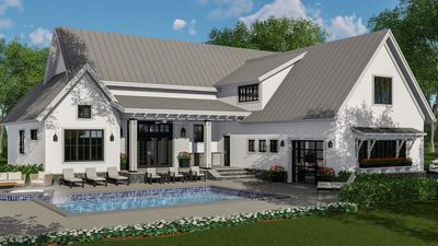 Modern Farmhouse Plan Rich With Features   14662RK Thumb   05