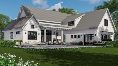 Modern Farmhouse Plan Rich With Features   14662RK Thumb   09