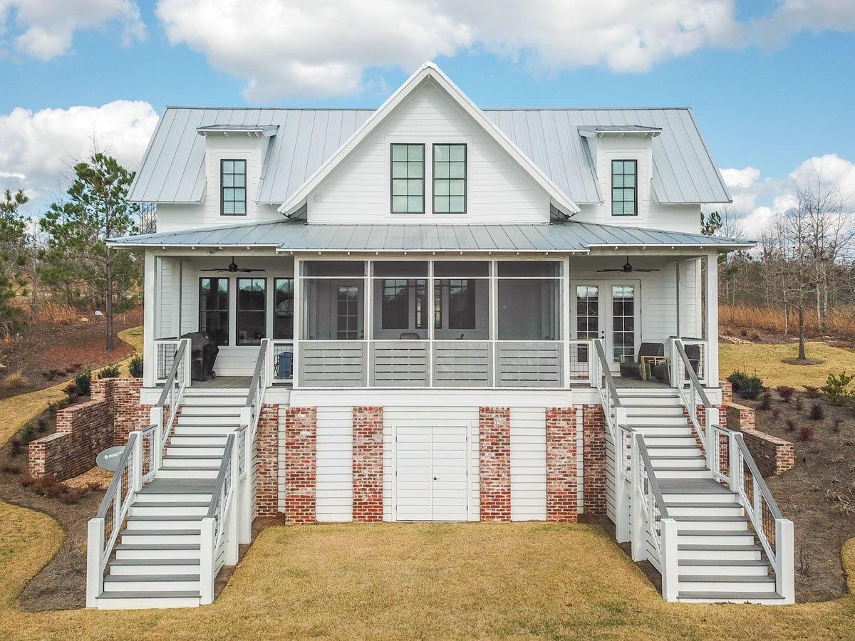 Cheerful Farmhouse House Plan 130006LLS